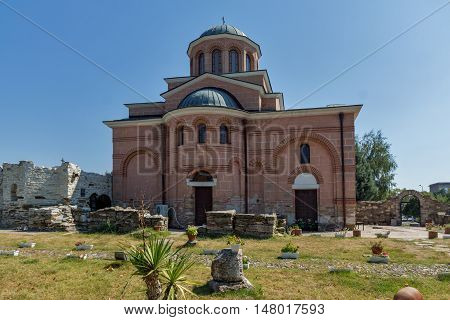 Church in Medieval Monastery St. John the Baptist, Kardzhali,  Bulgaria