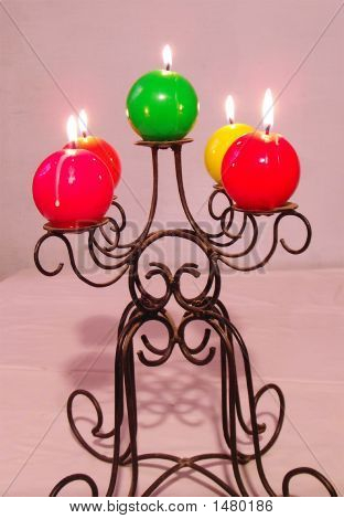 Ornamental Candle Stand
