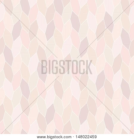 wide hex twist seamless pattern, pastel tone background