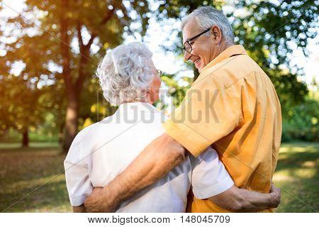 Portrait Of Loving Couple