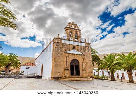 Nuestra Senora De La Pena Church - Vega de Rio Palmas Fuerteventura Canary Islands Spain Europe