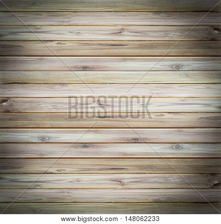 Teak wood plank texture use for background.