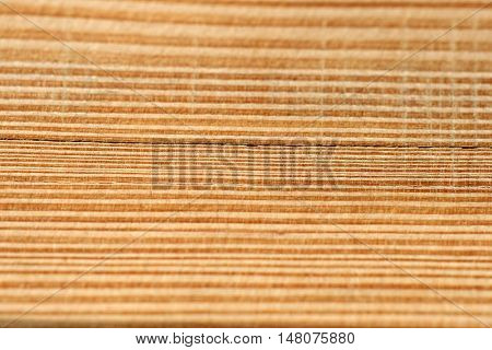A woodgrain background with a small DOF.