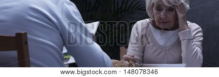 Losing Touch With Reality In Her Old Age