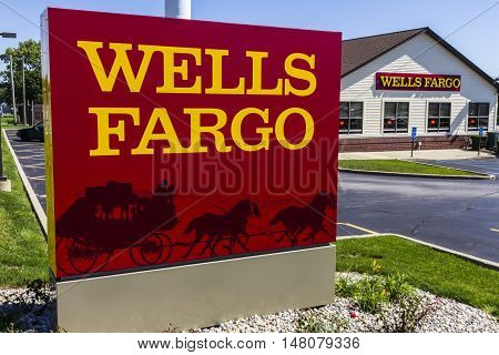 Ft. Wayne - Circa September 2016: Wells Fargo Retail Bank Branch. Wells Fargo is a Provider of Financial Services X