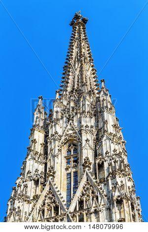 Detail St. Stephen's Cathedral, Vienna.  Austria.