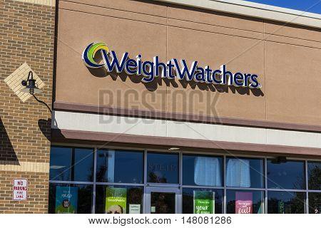 Ft. Wayne - Circa September 2016: Weight Watchers Meeting Location. Oprah Winfrey is a Weight Watchers Spokesperson and Stockholder II