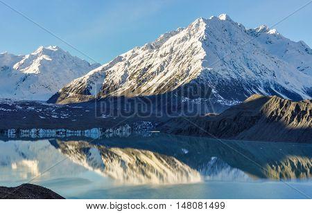 Lake Tasman In Aoraki/mount Cook National Park, New Zealand
