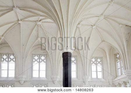White Gothic chamber.