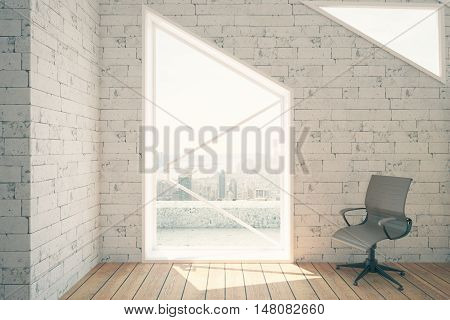 Swivel Chair In Interior