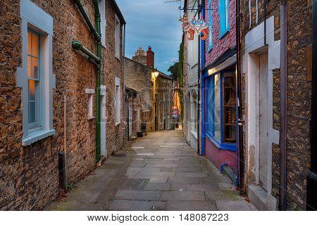Paul Street In Frome