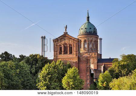 St. Michael Church, Berlin Kreuzberg In Summer