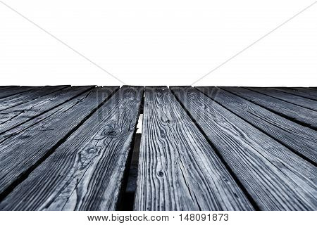 Rostrum Made Of Wooden Planks