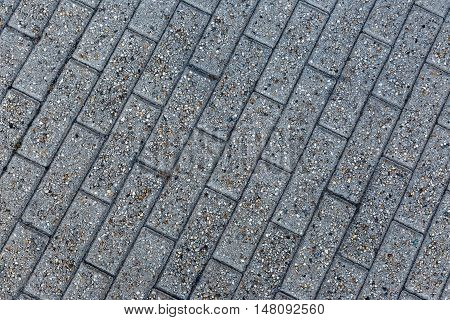 Gray Paving Stone From Sidewalk