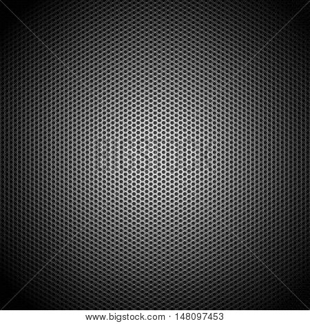 Metallic Honeycomb Grid