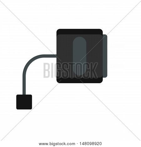 Electronic cigarette charger icon in flat style on a white background vector illustration