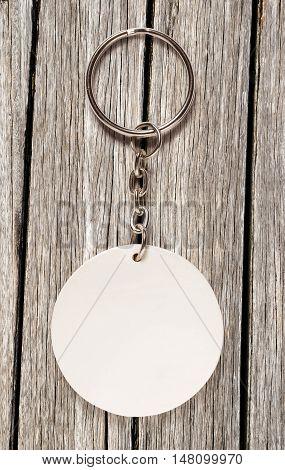 Key Ring With Round Trinket