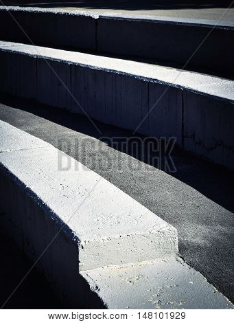 abstract background or texture Concrete steps for seating