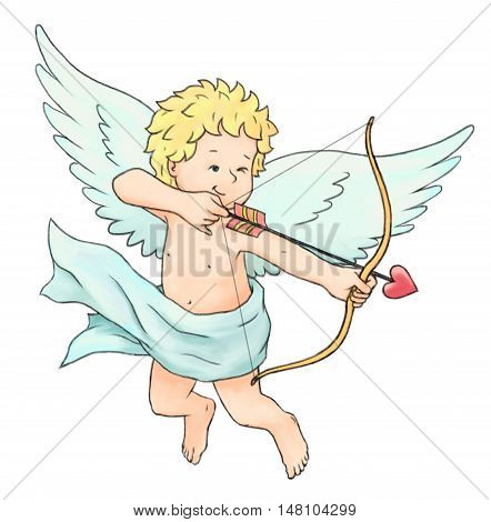 Cupid's Arrow love concepts event romance celebration flying