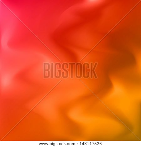 Vector colorful blurry background. Abstract texture. Modern orange beautiful backdrop
