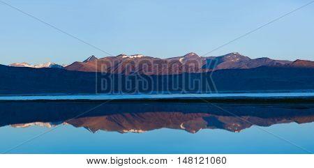 Tso Kar Lake In Ladakh, India