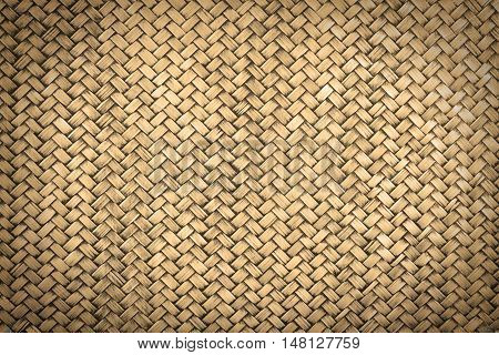vignette rattan weave by handmade for background