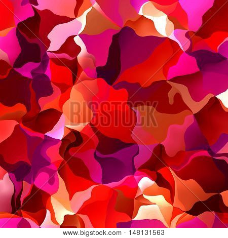 Vibrant Bold Red And Pink Melted Background Pattern
