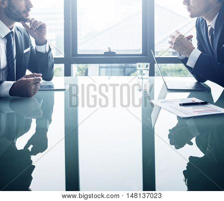 Businessman Office White Collar Worker Concept