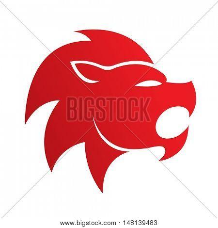 Zodiacs red leo