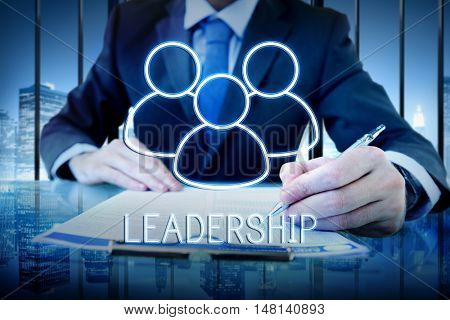 Leadership Team Partnership Concept