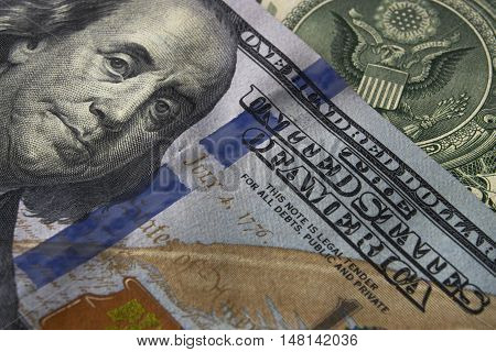 Dollar Bill currency US business finance american