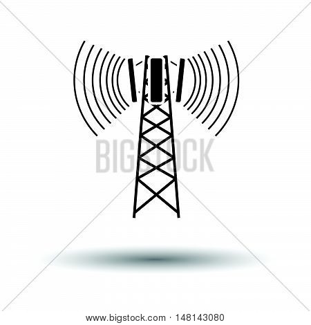 Cellular Broadcasting Antenna Icon