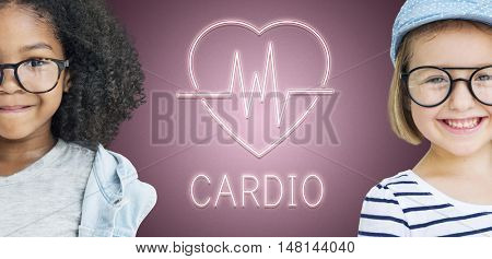 Cardiac Cardiovascular Disease Heart Graphic Concept
