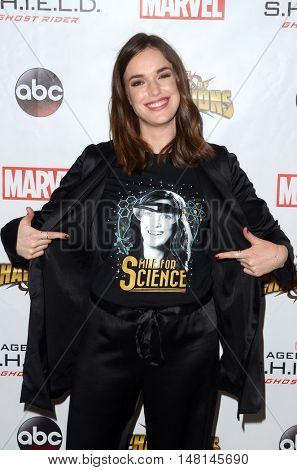 LOS ANGELES - SEP 19:  Elizabeth Henstridge at the
