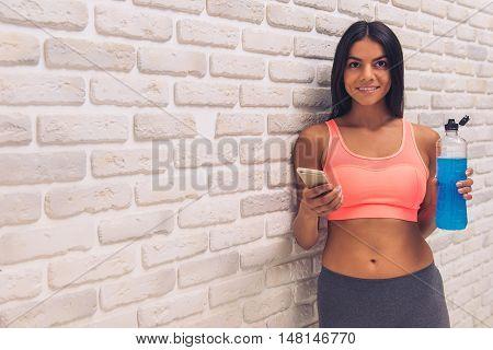 Beautiful Young Sportswoman