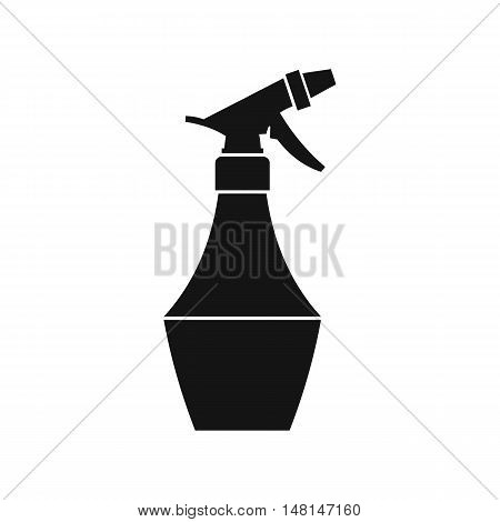 Spray bottle for flower icon in simple style isolated on white background. Water symbol vector illustration