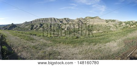Theodore Roosevelt National Park Panoramic