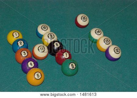 Gtg   Pool Balls Saying Hi