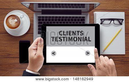 Clients Testimonial