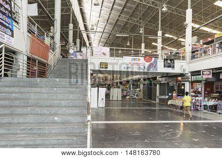 Bangkok September 15: Indoor Market At Min Buri Market On 15 September, 2016 In Bangkok Thailand. Mi