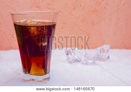 Sweet Soda In A Glass