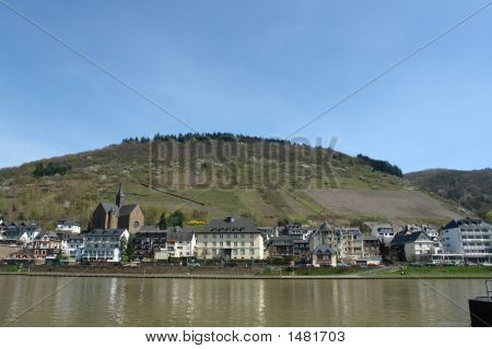 Cochem In The Rhine Valley