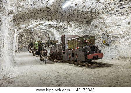 People Visit The Mining Plant Sondershausen In Germany