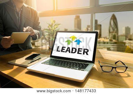 Leader ( Leader Leadership Manager Management Director )