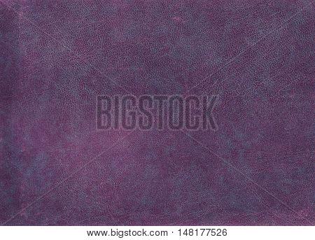 Purple Leather Surface.