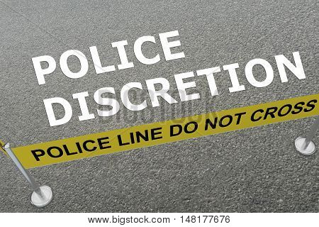 Police Discretion Concept