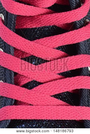 Pink Laces From Sneakers