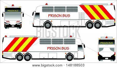 Prison Bus 02