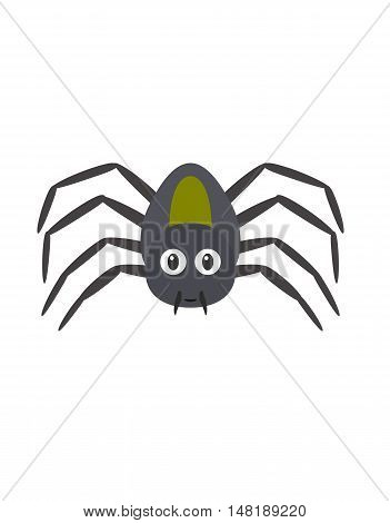Funny Spider Character