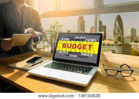 Budget Business Concept